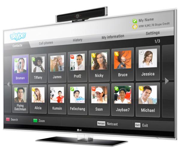 LG Skype HDTV