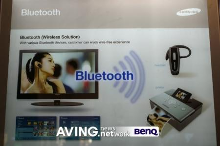 Samsung WiseLink Bluetooth wireless HDTV