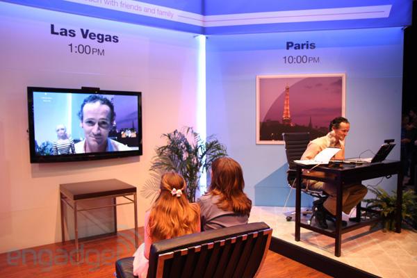 Panasonic Skype HDTV