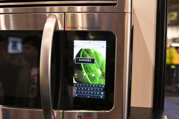 Android Microwave With Pandora Music Service