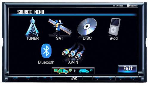 JVC KW-AVX830