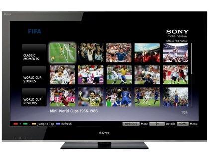 Sony Bravia HDTV with iPlayer