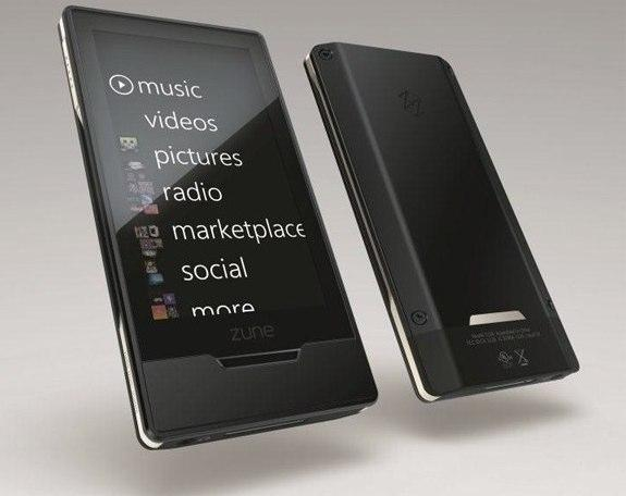 Zune HD in black