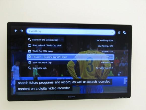 Google TV and live TV