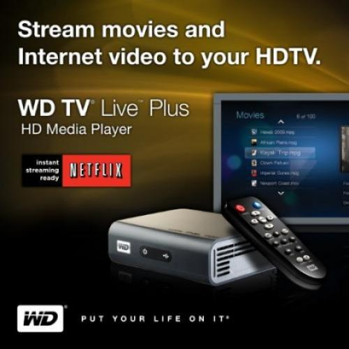 WD TV Live plus with Netflix