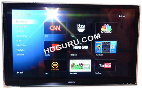 Sony Bravia NSX-46GT1 with Google TV