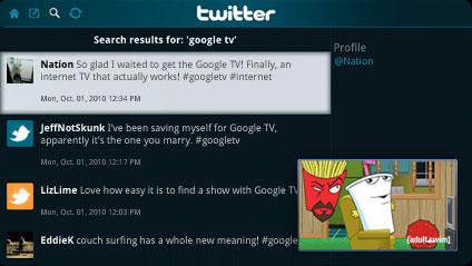 Android Apps on Google TV and the Logitech Revue