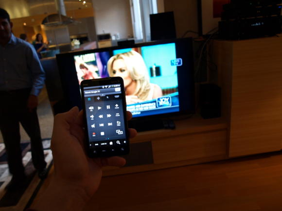 Control Google TV via Android phone