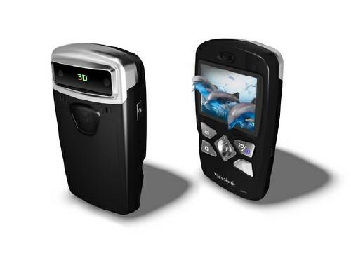 ViewSonic 3DV5 pocket camcorder