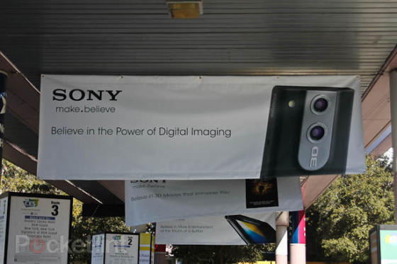 Sony Bloggie 3D at CES