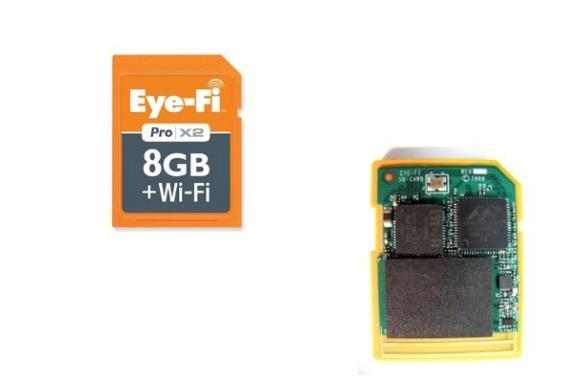 EyeFi Direct camera card