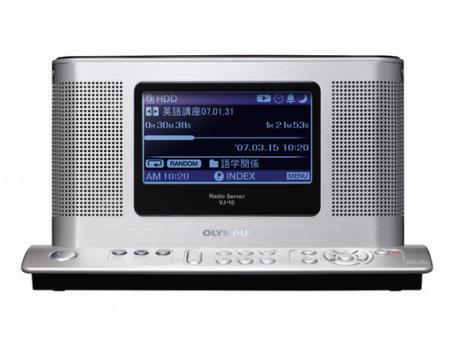 Olympus VJ-10 radio woth hard drive