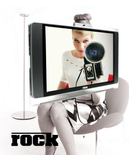 Rock Meivo LCD TV with IPTV and VoD and Media Center PC