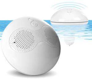 Wireless floating speakers for MP3 players