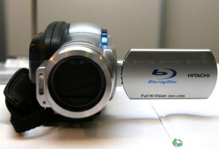 Hitachi DZ-BD7H BluRay camcorder