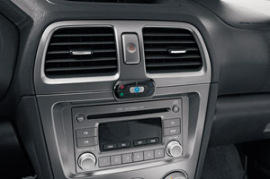 Motorola T605 in car media streamer