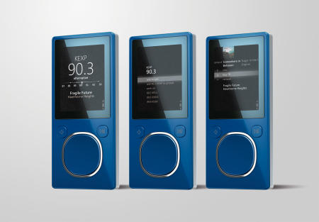 New Microsoft Zune announced