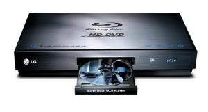 LG BH100 HD-DVD and Blu-Ray player