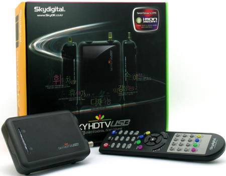 Skydigital SKYHDTV USB receiver with remote control