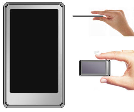 Sony Touchscreen Walkman at CES 2009