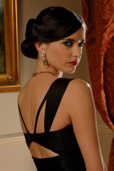 Eva Green, as she'd look on the Sony Bravia Z4500 HDTV!
