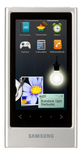 Samsung P3 MP4 player