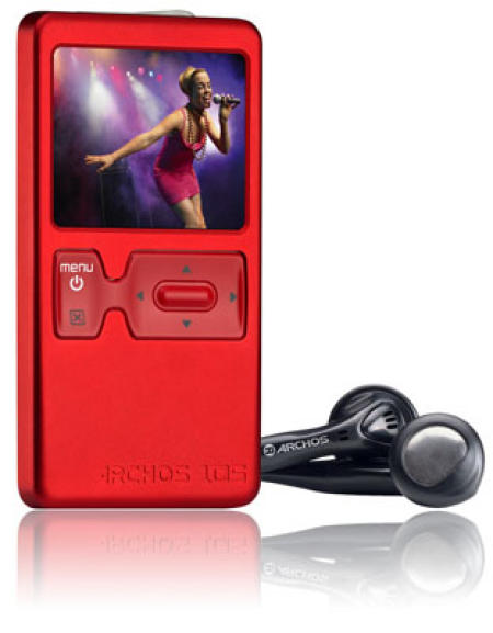 Archos 105 music and video player