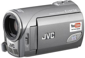 JVC GZ-MS100 Everio YouTube camcorder