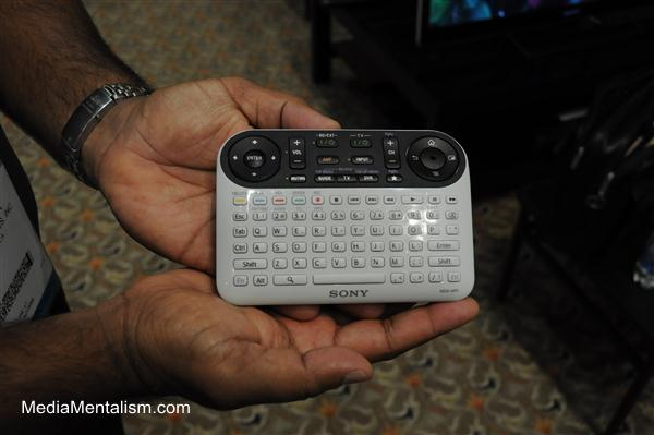 Sony Internet TV with Google remote control